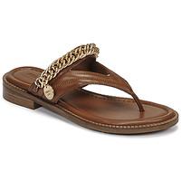 Schoenen Dames Sandalen / Open schoenen Bronx NEW THRILL Bruin / Goud
