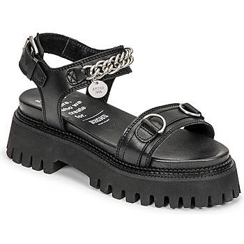 Schoenen Dames Sandalen / Open schoenen Bronx GROOVY SANDAL Zwart