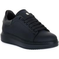 Schoenen Heren Lage sneakers Exton GOMMA NERO Nero