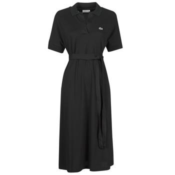 Textiel Dames Lange jurken Lacoste KONNI Zwart