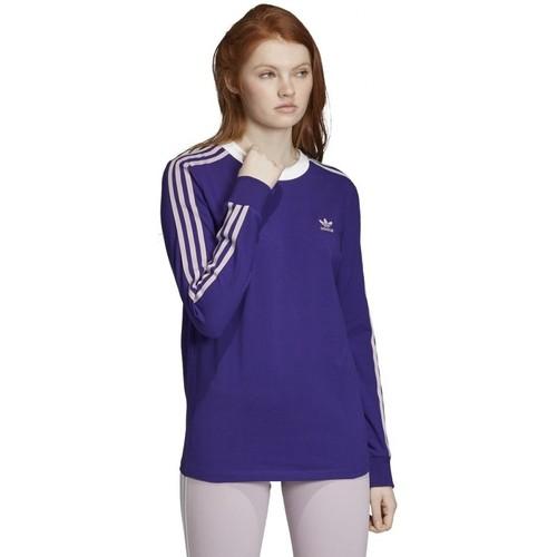 Textiel Dames T-shirts & Polo's adidas Originals  Violet