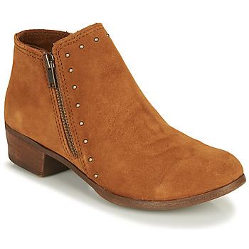 Schoenen Dames Laarzen Minnetonka BRIE BOOT Bruin