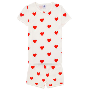 Textiel Meisjes Pyjama's / nachthemden Petit Bateau MICOURT Multicolour