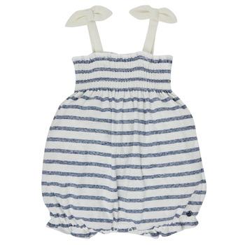 Textiel Meisjes Jumpsuites / Tuinbroeken Petit Bateau MILLY Multicolour
