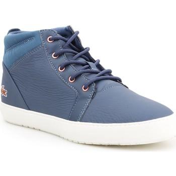 Schoenen Dames Hoge sneakers Lacoste Ampthill 319 2 CFA 7-38CFA00431W6 blue