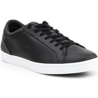 Schoenen Heren Lage sneakers Lacoste Straightset 316 1 CAM 7-32CAM0043024 black