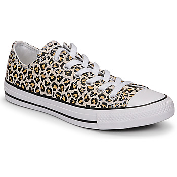 Schoenen Dames Lage sneakers Converse CHUCK TAYLOR ALL STAR ARCHIVE PRINT OX Luipaard