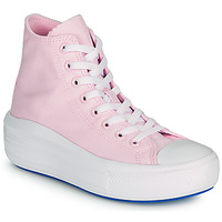 Schoenen Dames Hoge sneakers Converse CHUCK TAYLOR ALL STAR MOVE ANODIZED METALS HI Roze