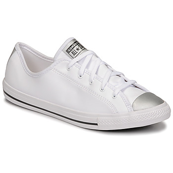 Schoenen Dames Lage sneakers Converse CHUCK TAYLOR ALL STAR DAINTY ANODIZED METALS OX Wit