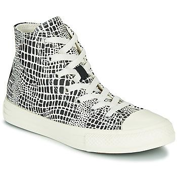 Schoenen Meisjes Hoge sneakers Converse CHUCK TAYLOR ALL STAR DIGITAL DAZE HI Zwart / Wit