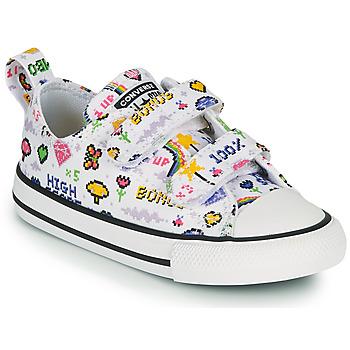 Schoenen Meisjes Lage sneakers Converse CHUCK TAYLOR ALL STAR 2V GIRLS GAMER OX Wit / Multi