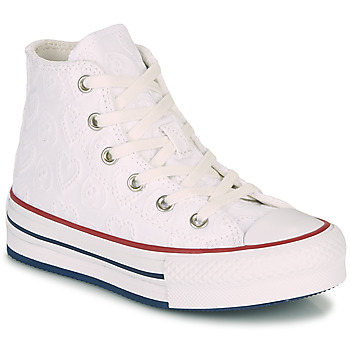 Schoenen Meisjes Hoge sneakers Converse CHUCK TAYLOR ALL STAR LIFT LOVE CEREMONY HI Wit