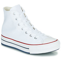 Schoenen Meisjes Hoge sneakers Converse CHUCK TAYLOR ALL STAR EVA LIFT CANVAS COLOR HI Wit