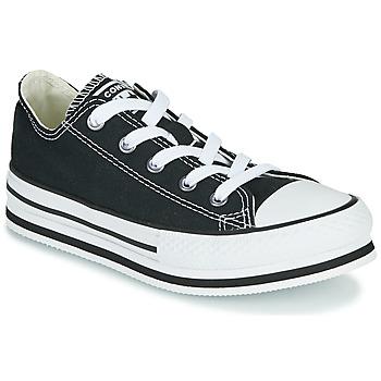 Schoenen Meisjes Lage sneakers Converse CHUCK TAYLOR ALL STAR EVA LIFT EVERYDAY EASE OX Zwart