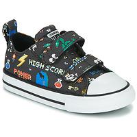 Schoenen Jongens Lage sneakers Converse CHUCK TAYLOR ALL STAR 2V BOYS GAMER OX Zwart / Multi