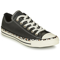 Schoenen Dames Lage sneakers Converse CHUCK TAYLOR ALL STAR ARCHIVE DETAILS OX Zwart / Luipaard