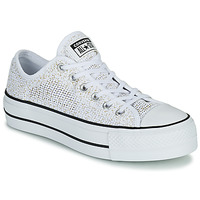 Schoenen Dames Lage sneakers Converse CHUCK TAYLOR ALL STAR LIFT BREATHABLE OX Wit