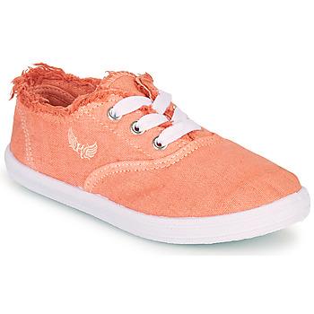 Schoenen Meisjes Lage sneakers Kaporal DESMA Koraal