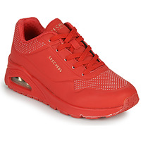Schoenen Dames Lage sneakers Skechers UNO STAND ON AIR Rood