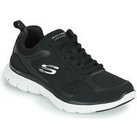 Schoenen Dames Fitness Skechers FLEX APPEAL 4.0 Zwart