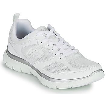 Schoenen Dames Fitness Skechers FLEX APPEAL 4.0 Wit