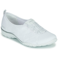 Schoenen Dames Lage sneakers Skechers BREATHE-EASY A-LOOK Wit
