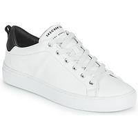 Schoenen Dames Lage sneakers Skechers SIDE STREET Wit