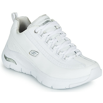 Schoenen Dames Lage sneakers Skechers ARCH FIT Wit