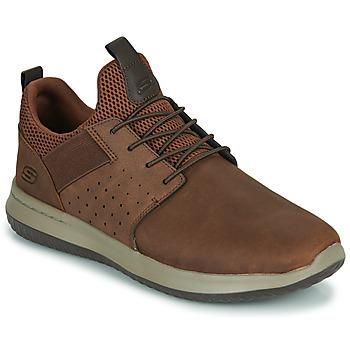 Schoenen Heren Lage sneakers Skechers DELSON AXTON Bruin
