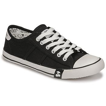 Schoenen Dames Lage sneakers Le Temps des Cerises EASY Zwart
