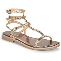 Schoenen Dames Sandalen / Open schoenen Les Tropéziennes par M Belarbi COROL Beige / Slang