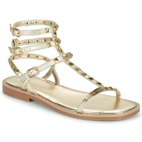 Schoenen Dames Sandalen / Open schoenen Les Tropéziennes par M Belarbi CORALIE Goud