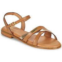 Schoenen Dames Sandalen / Open schoenen Les Tropéziennes par M Belarbi HEXANE Bruin / Goud