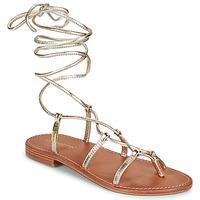 Schoenen Dames Sandalen / Open schoenen Les Tropéziennes par M Belarbi HELLEN Goud