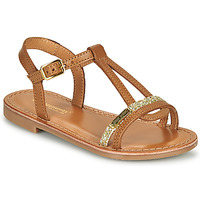 Schoenen Meisjes Sandalen / Open schoenen Les Tropéziennes par M Belarbi BADA Goud