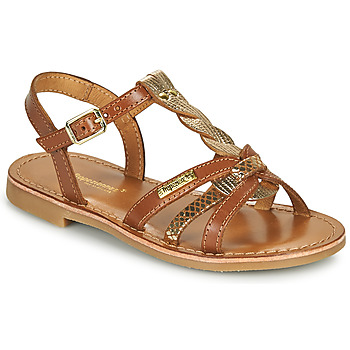 Schoenen Meisjes Sandalen / Open schoenen Les Tropéziennes par M Belarbi BADAMI Camel / Goud