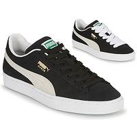 Schoenen Heren Lage sneakers Puma SUEDE Zwart