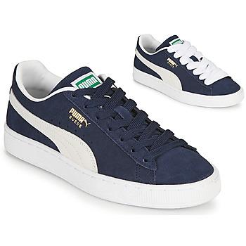Schoenen Lage sneakers Puma SUEDE Blauw