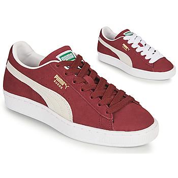 Schoenen Lage sneakers Puma SUEDE Bordeau
