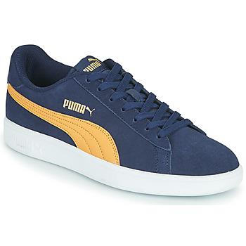 Schoenen Heren Lage sneakers Puma SMASH Blauw / Beige