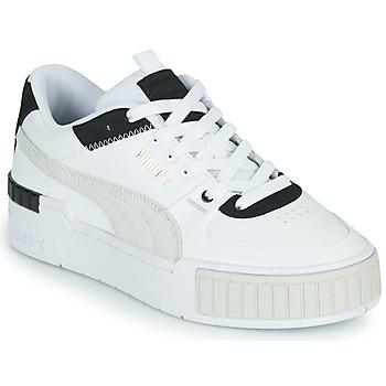 Schoenen Dames Lage sneakers Puma CALI SPORT Wit / Zwart