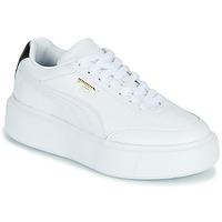 Schoenen Dames Lage sneakers Puma CALI OSLO Wit / Zwart