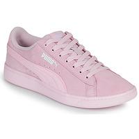 Schoenen Dames Lage sneakers Puma VIKKY Roze