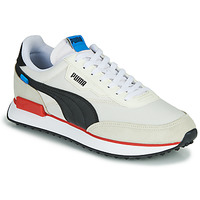 Schoenen Heren Lage sneakers Puma FUTURE RIDER PLAY ON Wit / Zwart / Rood