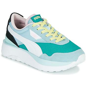 Schoenen Dames Lage sneakers Puma CRUISE RIDER SILK Blauw / Wit / Zwart