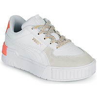 Schoenen Meisjes Lage sneakers Puma CALI SPORT PS Wit / Roze