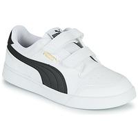 Schoenen Kinderen Lage sneakers Puma SHUFFLE PS Wit / Zwart