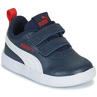 Schoenen Kinderen Lage sneakers Puma COURTFLEX INF Zwart
