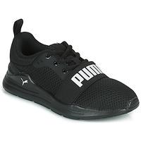 Schoenen Kinderen Lage sneakers Puma WIRED PS Zwart