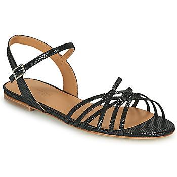 Schoenen Dames Sandalen / Open schoenen Emma Go SASKIA Zwart